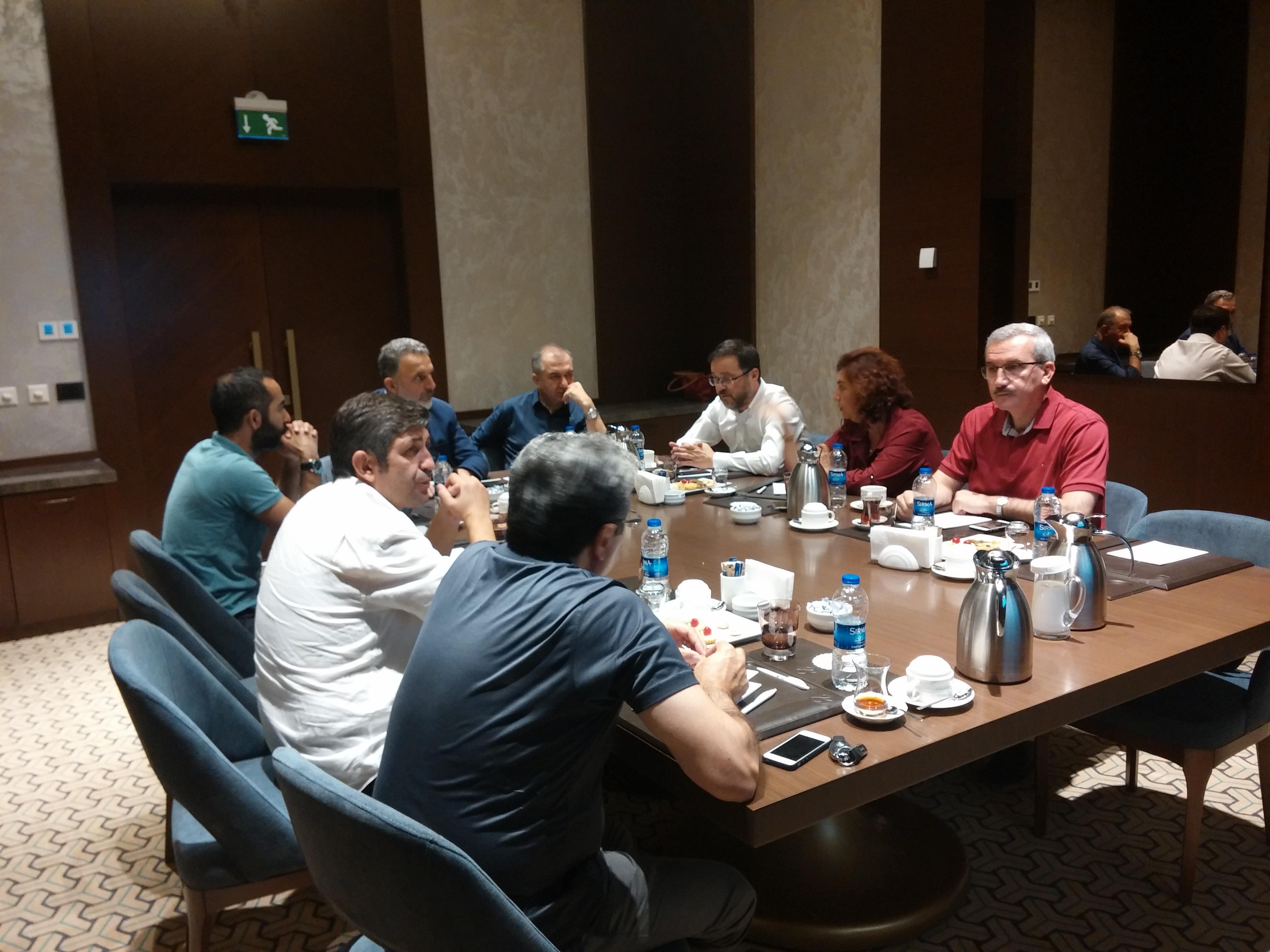 Ağustos Ayı Yönetim Kurulu Toplantısı