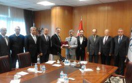 SGK Başkanı Dr. Selim Bağlı Ziyareti