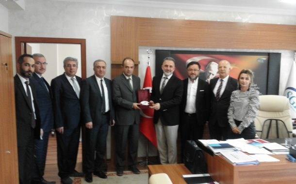 GSS Genel Müdürü Dr. Mustafa Özderyol Ziyareti