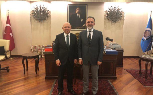 Ankara Üniversitesi Rektörü Erkan İbiş Ziyaret Edildi