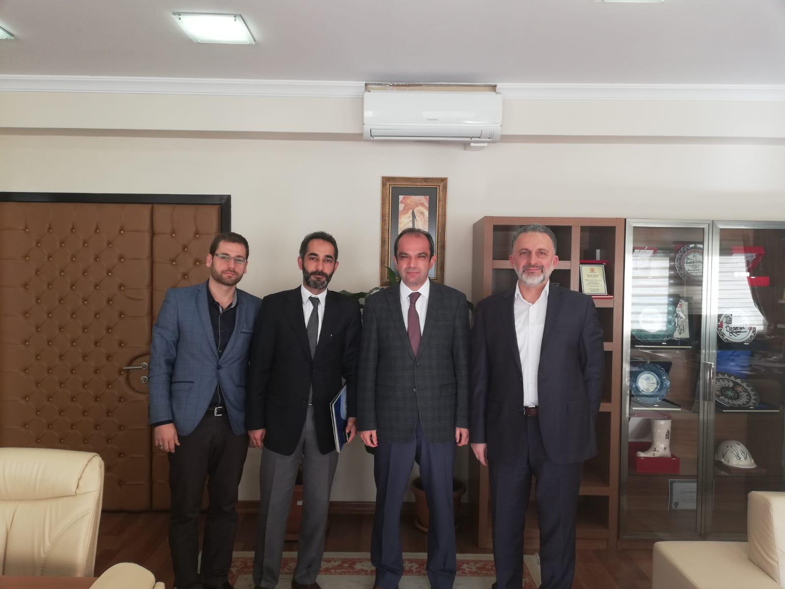 GSS Genel Müdürü Mustafa Özderyol Ziyaret Edildi