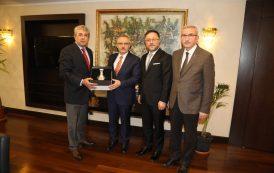 Cumhurbaşkanlığı Strateji ve Bütçe Başkanı Naci Ağbal Ziyaret Edildi