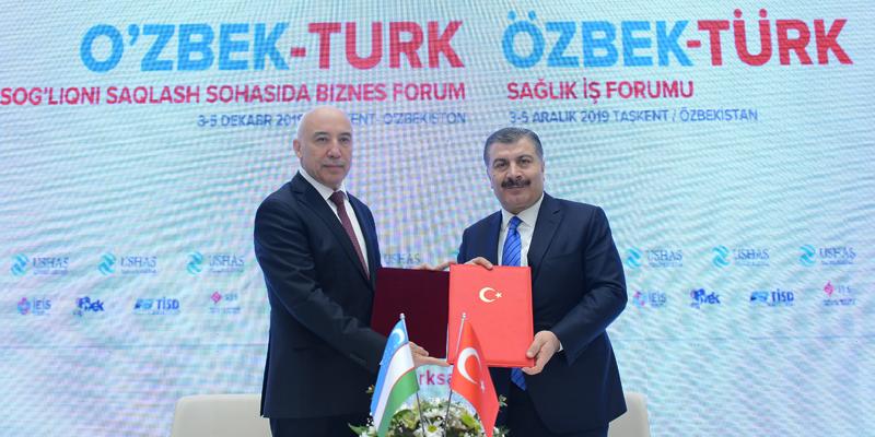 Özbek-Türk Sağlık İş Forumu İcra Edildi