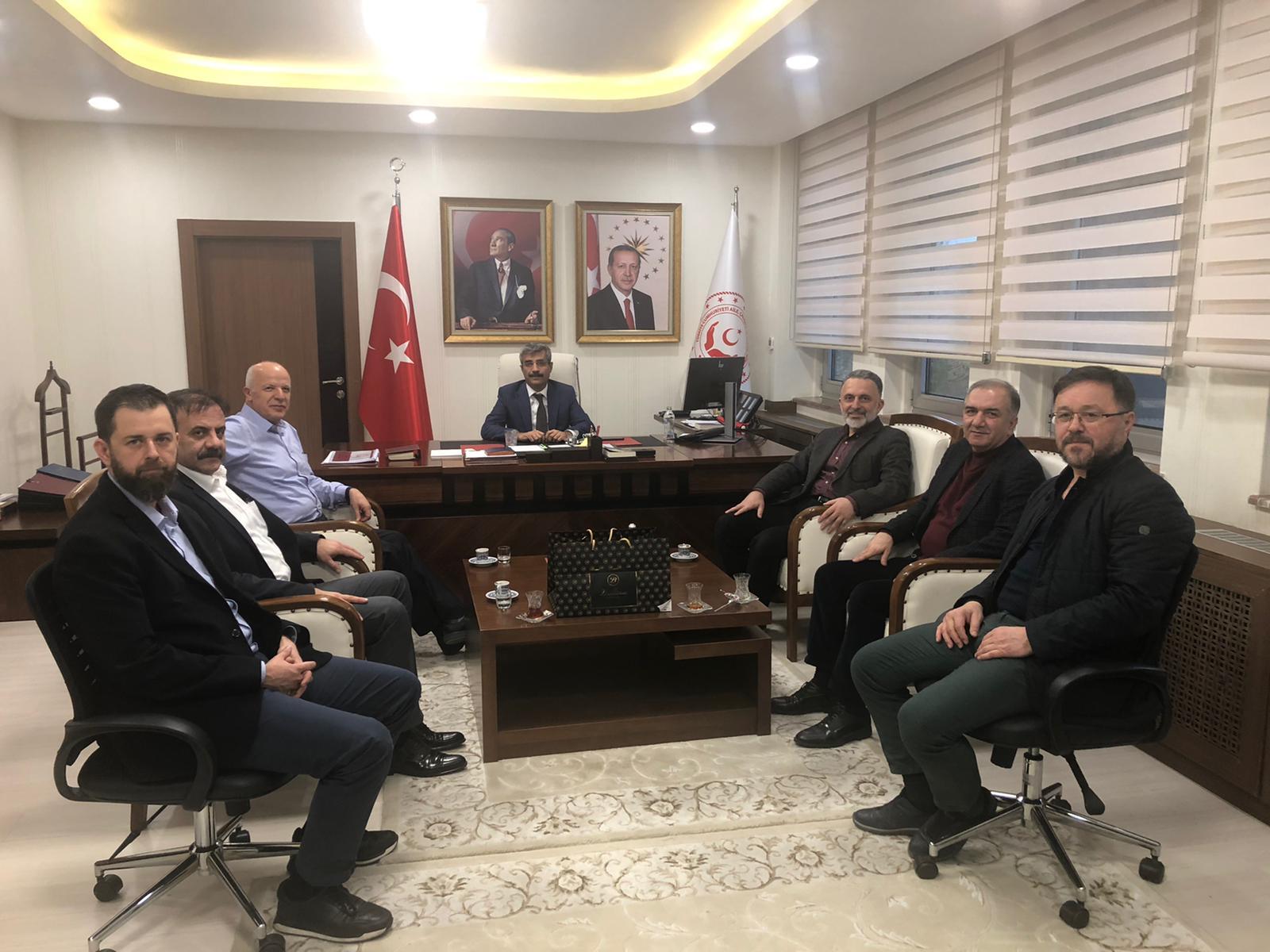 Selim Bağlı Ziyareti