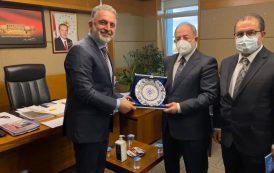 TBMM Sağlık Komisyon Başkanı Sayın Prof. Dr. Recep Akdağ'ı ziyaret